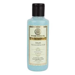 KHADI NATURAL Aloe Vera Face Wash Scrub (SLS & Paraben Free)