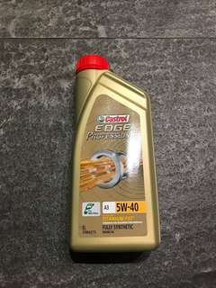 Castrol 5W40 Synthetic Engine Oil (1litre)