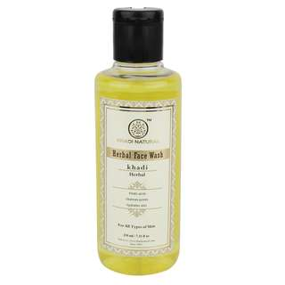 KHADI NATURAL Herbal Face Wash