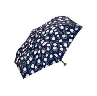 全新 日本 w.p.c TULIP umbrella 輕量 防風 防UV 折合雨傘