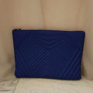 New look Blue clutch