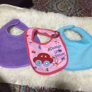Baby bib set ♥️ brand new