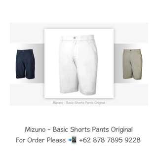 Mizuno - Basic Shorts Pants Original