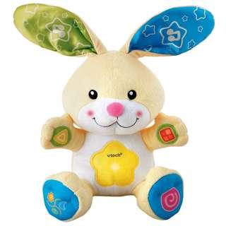 VTech - Peek At Me Bunny Light & Sound Plush Toy