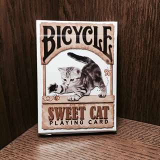 Sweet Cat Playing Card