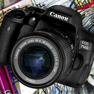 Camera Dslr 750D Bisa di cicil tanpa kartu credit (nikon,lumix)