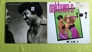 O.C. SMITH ● OAK TOWN 3.5.7  together / we like it (2 items 1 price )  vinyl record