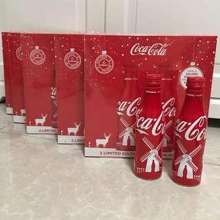 [全新] Coca Cola 2017荷蘭風車可口可樂鋁瓶禮盒版