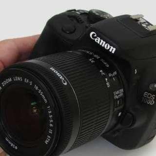 Camera Slr Canon 100D mini slr Bisa di cicil persyaratan mudah