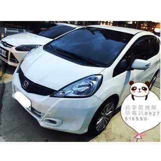 2011年 本田 FIT 頂級 白色專營台灣優質中古車-二手車