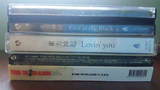 TVXQ Albums Bundle(Korean/Japanese)