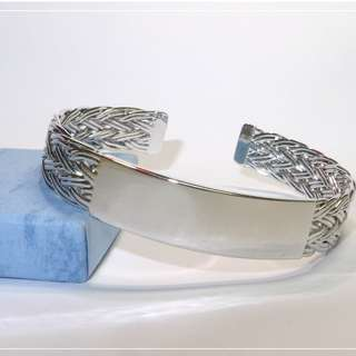 Silver Bangle Bracelet (Stock Clearance SALE)