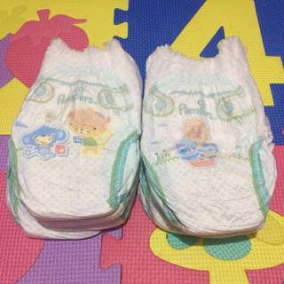 9pcs ‼️ Medium Pampers Pants Diaper