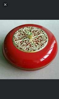 (Kept 25 years Peranakan Collection) Hari Raya Candy Container Tray