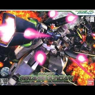 BANDAI (Gundam 00) NG 1/100 GN-008 Seravee Gundam