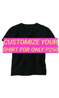 Customized Shirt