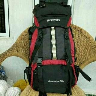 Slanzenger cariel bag size 50lt - IG second_store_jakarta