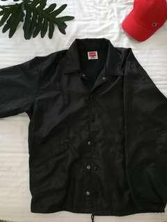 Auth Hanes Black Coach Jacket