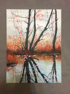 油畫 Oil Painting - 如水