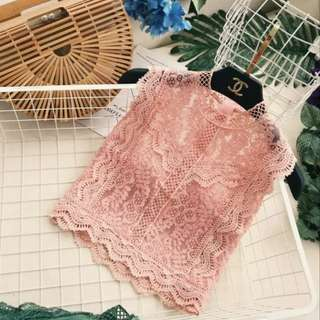 Po: lace sleeveless top
