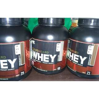 Brand New ON GOLD Standard Whey Protein 5lbs