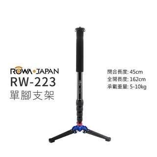 樂華 RW-223 單腳支架 全景拍攝 四節 穩定架 拍攝架 液壓支撐底座 單腳架