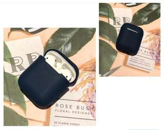 Navy Airpods sleeve