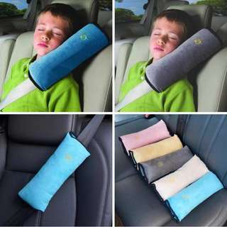 Car Seat Belt with Pillow