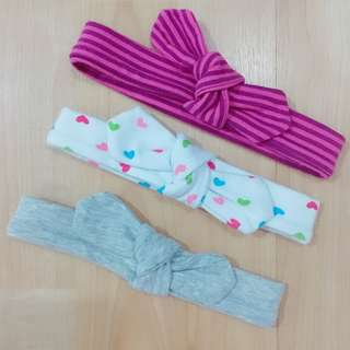 Preloved Baby Headbands (Set of 3)