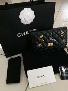 Chanel reissue charms woc