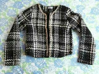 Blanc Noir Knitted office cardigan