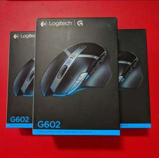 Logitech gaming mouse G602/ Logitech G602 Wireless gaming mouse