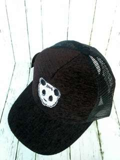 Topi snapback bordir panda knockout kerennnn