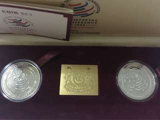 Singapore Minsterial Conference $5 Coin Set Year 1996