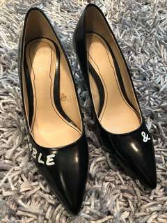 Authentic Zara black pumps, 2 inches heels - bnew w/o tags