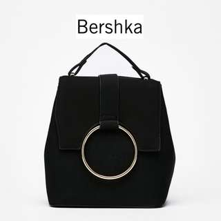 Bnwt Authentic Bershka Mini Backpack With Ring Bagp