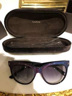 A pair of sunglasses by Tom Ford