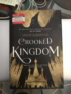 Target Exclusive Crooked Kingdom by Leigh Bardugo