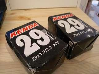 """29"""" x 1.9/2.3 inner tube x 02ea"""