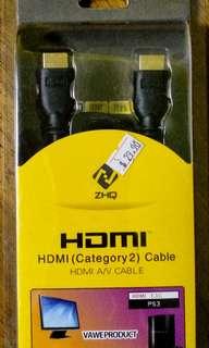 BNIB HDMI CABLE (1.8m)