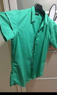 Green Top, Calvin Klein authentic shirt for MEN