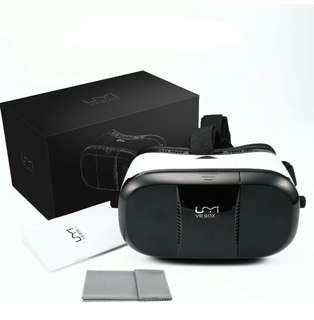 (97)VR Headset UMIDIGI 3D Glasses with Adjustable Lenses/Magnet Trigger/Head Strap for 4~6 Inch Smartphone VR Box for 3D Movies Games Compatible
