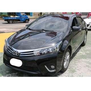2015年 豐田 ALTIS E版 黑色大螢幕 專營台灣優質中古車-二手車