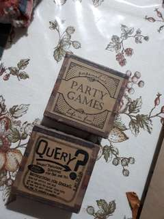 Party Games and Question Cards Bundle (Papemelroti)