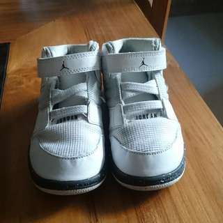 NIKE JORDAN 1 Trainers Boys Toddler Sneakers Shoes White