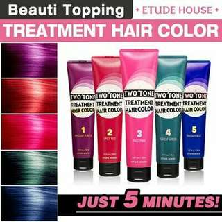 AUTHENTIC TWO TONE TREATMENT HAIR COLOR