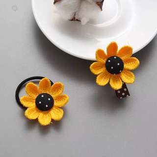 Ladies & beauty pretty girls hair clips and hair band 女童髮夾及髮圈