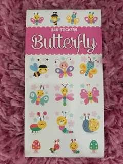 240 Mini Stickers <Butterfly>