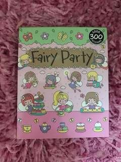 300 Mini Stickers <Fairy Party>