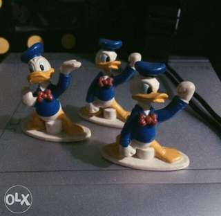 Donald Duck Figures or Cake Toppers